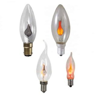 Candle Flicker Flame Neon Light Bulbs