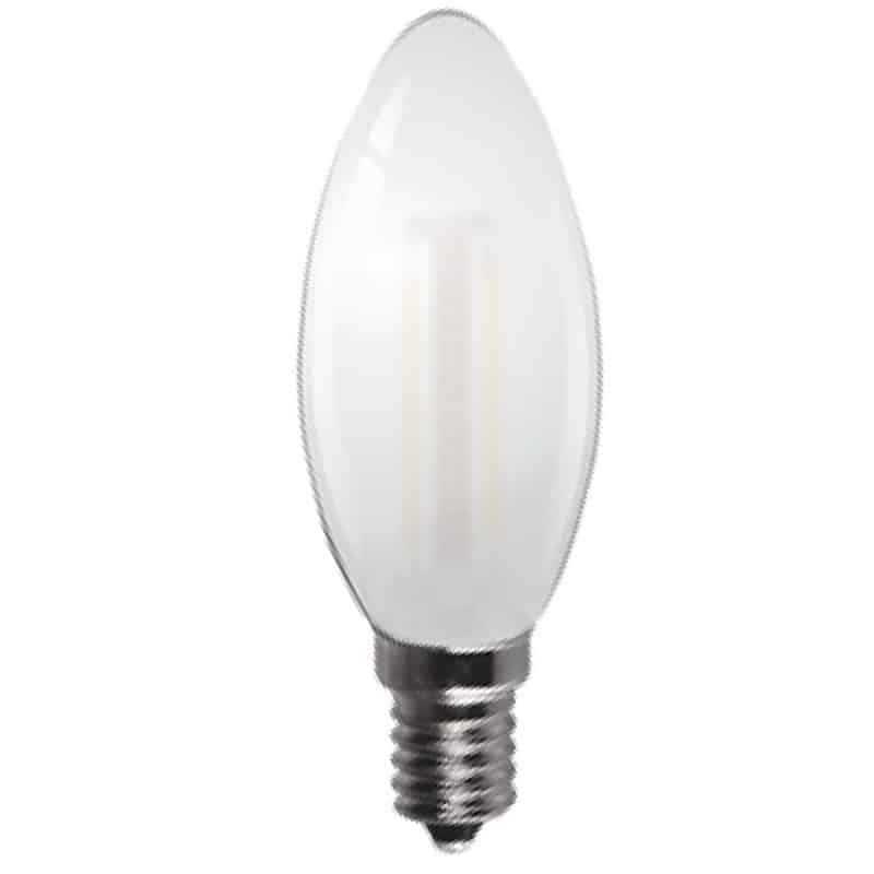 Energizer 4w 40w Filament Led Candle Ses: Filament LED Candle Household Light Bulb 240v