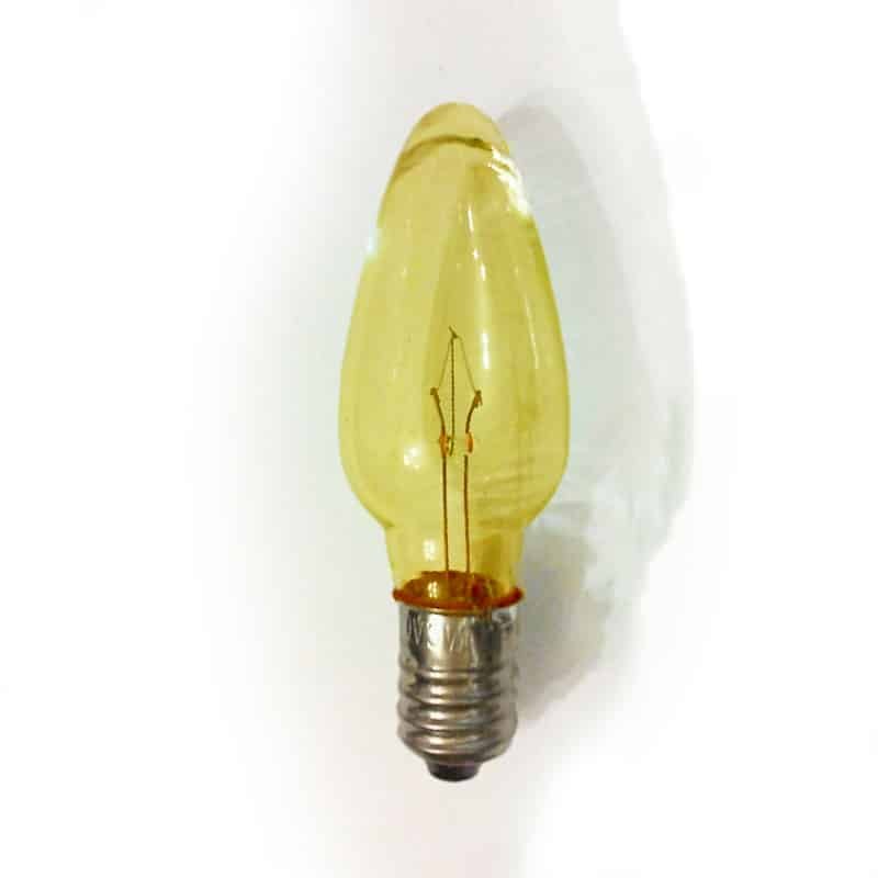 Replacement Christmas Bulbs.Replacement Christmas Light Bulbs Yellow 12v 3w E10 Clear Small Mes Screw In Cone Shaped Bulb