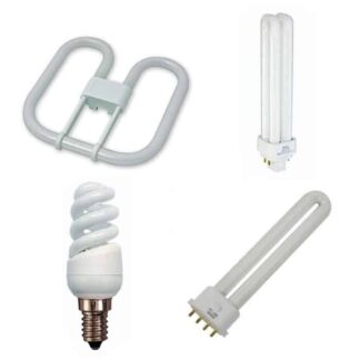 Energy Saving CFL Light Bulbs